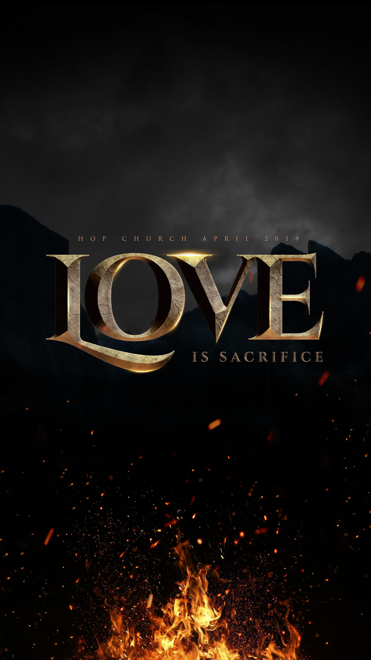 Download wallpaper Love is Sacrifice