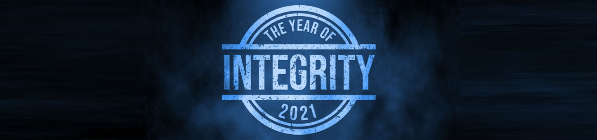 2021 The Year of Integrity
